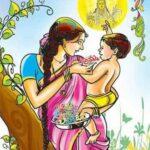 Chandamama Raave Jaabilli Raave - Mother & Son Childhood Poem