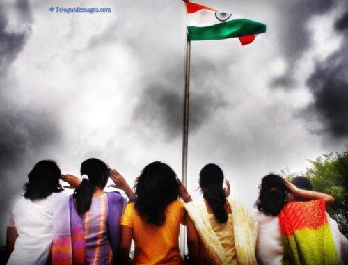 Girls-saluting-india-flag