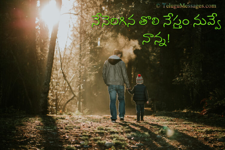 Telugu Quote About Father