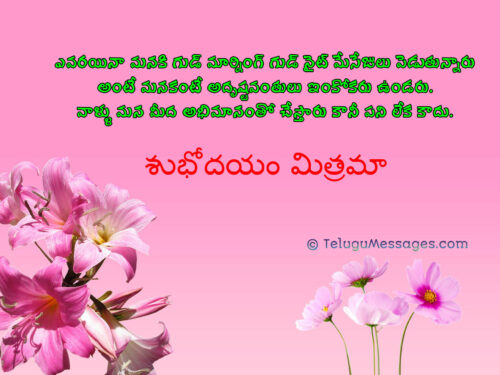 Good Morning Quotes for Special Friends