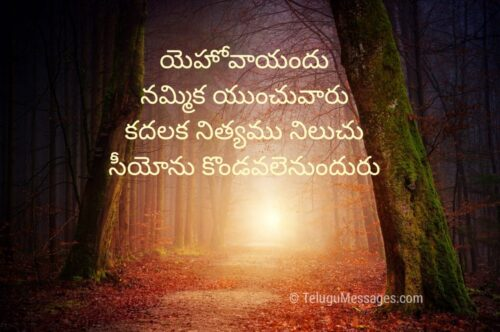 Spiritual Bible Quotes Telugu