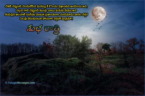 Take-rest-good-night-poem-in-Telugu