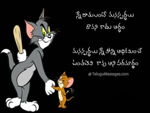 Telugu Friendship Quote