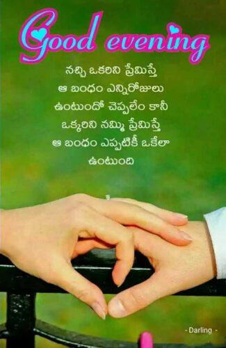 Telugu Good Evening on Trust